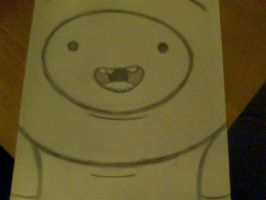 Uncolored Finn. by DoodlingGillian