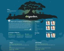 ChiGarden website redesign by chisa
