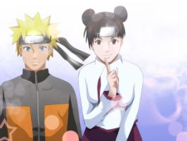 Naruto Shippuden Naruto Tenten Request by Mr123GOKU123
