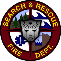 Ratchet Search and Rescue Logo by cbunye