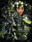 Tech Soldier LP by bobbydigital72