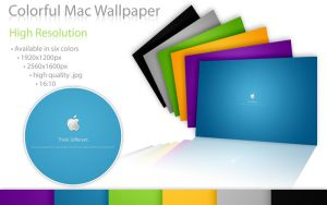 Colorful Mac Wallpaper HiRes by Nemed