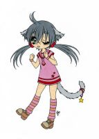 Silly Kitty Colored by Maiko-Girl