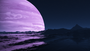 Purple Giant by Azmerith