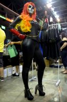 Female Ghost Rider Stocktoncon by Pokypandas