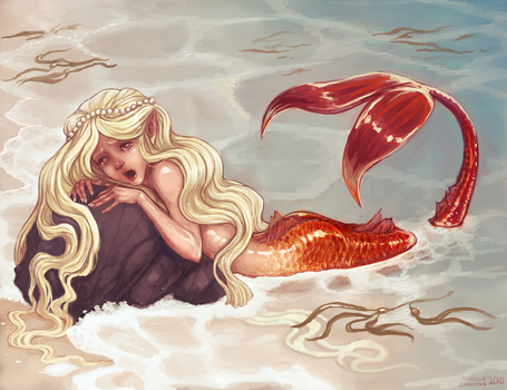 Mermaid's Cry by tinypaint