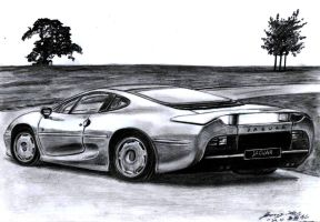 Jaguar XJ220 Supercar by toyonda
