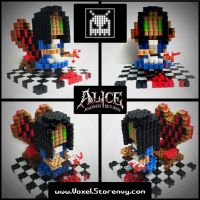 Alice (Madness Returns) by VoxelPerlers
