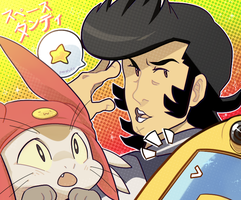 Space*Dandy by buljong