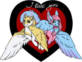 I heart U by ZizanChan