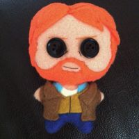 Vincent Van Gogh Plushie (Doctor Who Inspired) by Jack-O-AllTrades