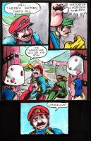 Super Mario Bros. Page 2 by CarlChrappa