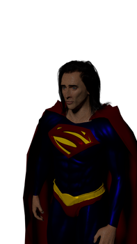 Nic Cage SUPERMAN LIVES Test Render by TheFilmCore