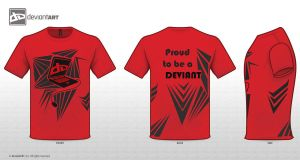 Deviant T-Shirt Design by xCarnationFox