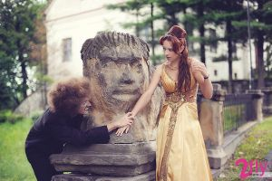 Beauty and the Beast by pathyelisia