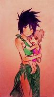Anko and Daughter Summer 2014 by KickBass77