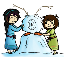 Do you want to build a snowman? by Kiyan200