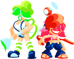CMSN - Super Splat Sisters by Quarma