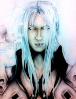 Sephiroth from Final Fantasy by HaruXHaru