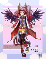 [CLOSED]: Lunar/Red Flower Adoptables Auction: #3 by ZeonXeria