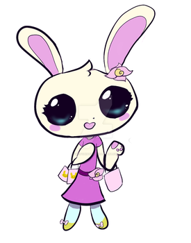 Tonia The Rabbip by Sketchistic