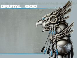 BrutalGod by hunterkiller