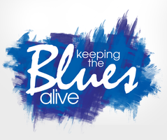 Keep The Blues Alive by mvgraphics