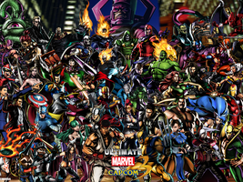 UMvC3 Ultimate Marvel Vs Capcom 3 Wallpaper by DMN666