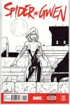 Spider-Gwen - Sketch Cover by tonyperna
