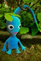 Blue Pikmin by LittleWikis