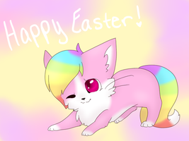 Happy Easter 2015! by Emeraldpaws