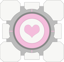 Companion Cube by Bogun99