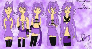 The Outfits of Zayo by PPGDBlossom