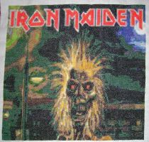 Iron Maiden album cover by behindthesofa