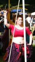 Belly Dancer at the Medieval Fair 02 by wolf74145