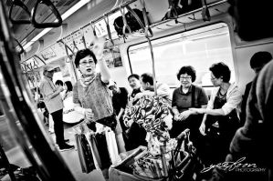 Lost in translation: Subway Stories by yeeboon