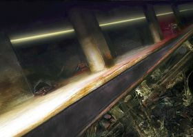 Subway Accident by Senecal