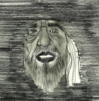 Shocked portrait of the mariner by GalaxyDestroyer
