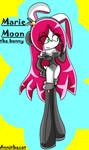 Marie Moon the bunny by Annithecat
