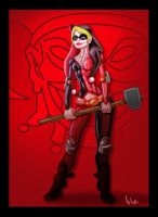 harley quinn by TOTOPO
