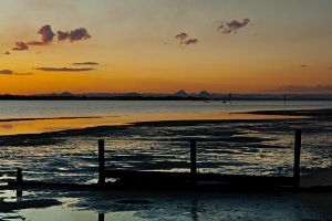 Mud flats - Bribie Island 1 by wildplaces