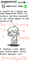 Homestuck meme thing by RemnantOfAsylum