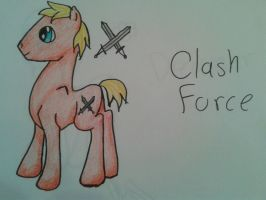 ClashForce colored by fairyfur12345