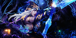 Ashe The Frost Archer Sign by mazeko