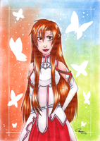 Asuna by AriannLee