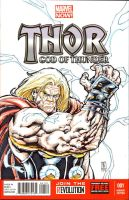Thor sketch cover by warpath28