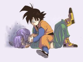 Trunks_Son Goten! by mcdumb