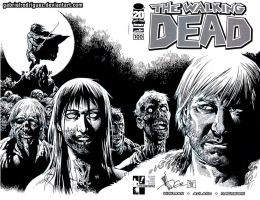 Hero Initiative The Walking Dead 100 by GabrielRodriguez
