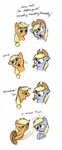 Derpy's Impersonation by Mickeymonster