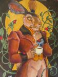 The Gentleman Hare by NibbleKat